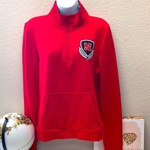 NWT VS Pink University Of Nebraska Pullover